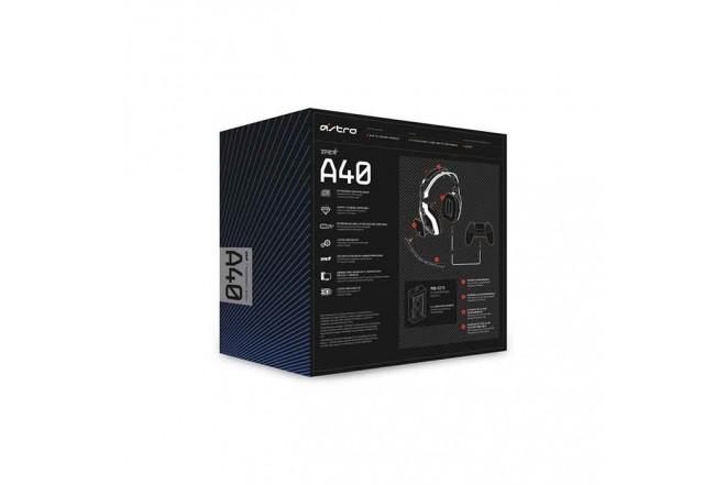 Diadema ASTRO Alámbrica Gaming A40 PS4 Negro 5