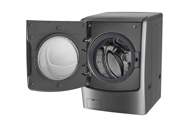 Lavadora / Secadora LG CF 22 Kg WD22VTS6 Inox 6Motion™ DD 9