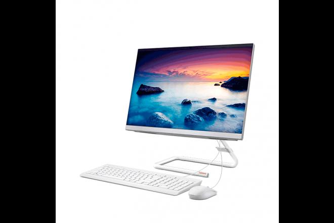 "PC All in One LENOVO  A340  AMD A9  21.5"" Pulgadas  Disco Duro 1TB  Blanco 3"