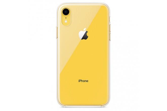 Clear Case iPHONE XR Transparente1