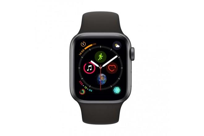 Reloj APPLE WATCH S4 GPS 40M Gris Espacial - Negro