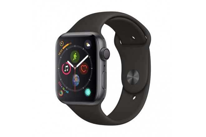 Reloj APPLE WATCH S4 GPS 44M Gris Espacial - Negro