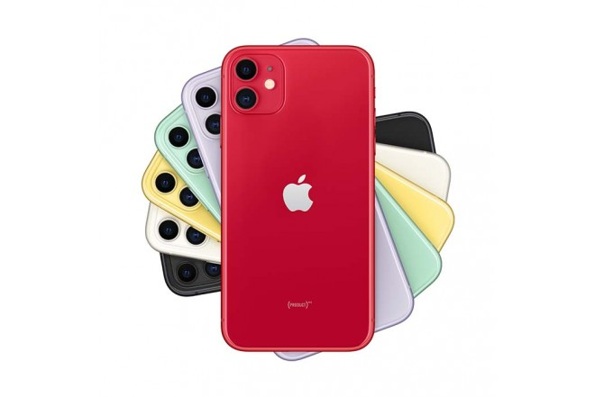 iPhone 11 128GB en rojo1