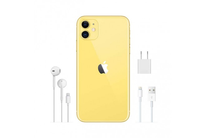 iPhone 11 128 GB en amarillo7