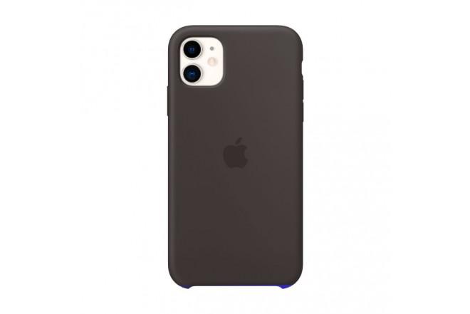 Case Silicone APPLE iPhone11 Negro 2