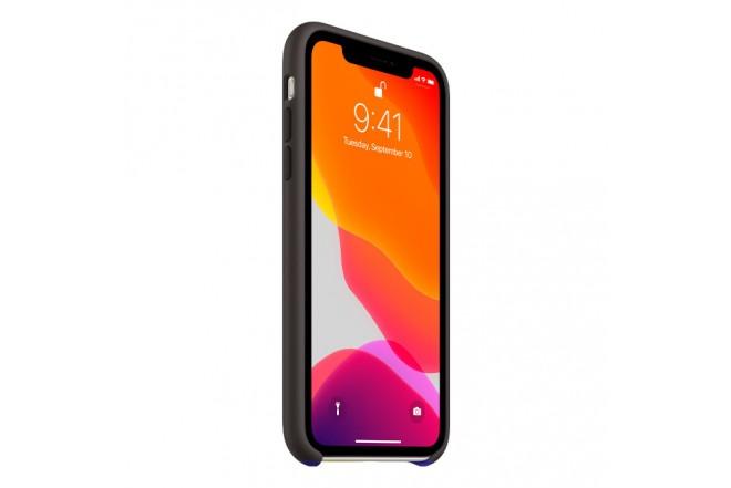 Case Silicone APPLE iPhone11 Negro 3