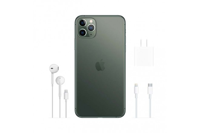 iPhone 11 Pro Max 64GB de en verde noche6