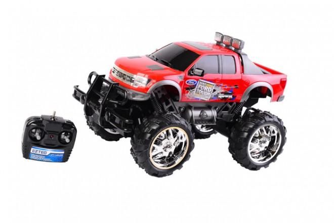 Coche R/C Monster Truck F-150 Eztec Rojo