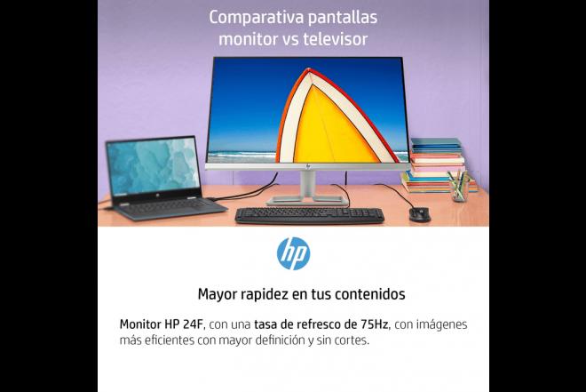 """Monitor HP 24F 24"""" Negro_5"""