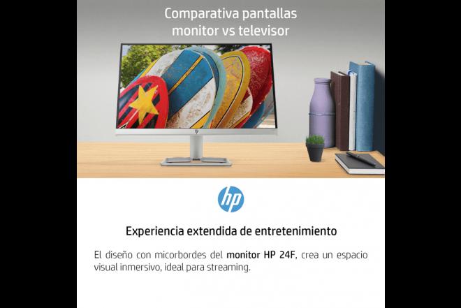 """Monitor HP 24F 24"""" Negro_6"""