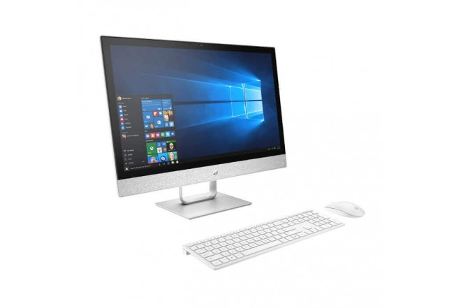 """PC All in One HP - 24-r101la - AMD Ryzen 3 - 23.8"""" Pulgadas - Disco Duro 1Tb - Blanco4"""