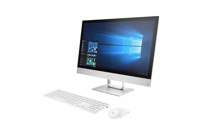 """PC All in One HP - 24-r101la - AMD Ryzen 3 - 23.8"""" Pulgadas - Disco Duro 1Tb - Blanco3"""