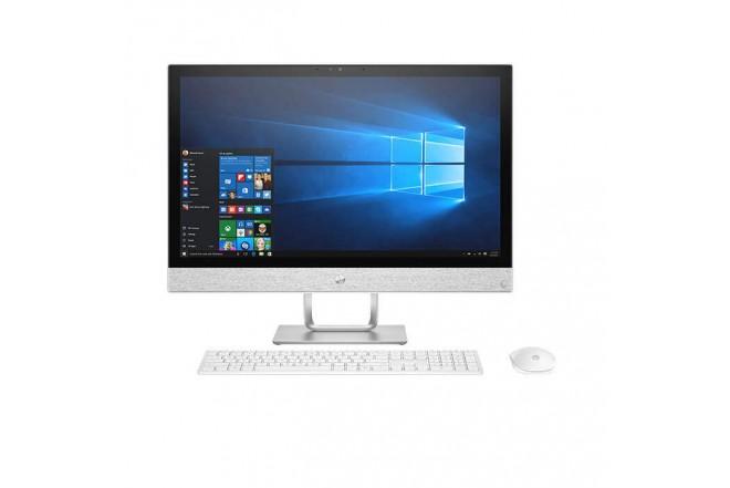 """PC All in One HP - 24-r101la - AMD Ryzen 3 - 23.8"""" Pulgadas - Disco Duro 1Tb - Blanco1"""