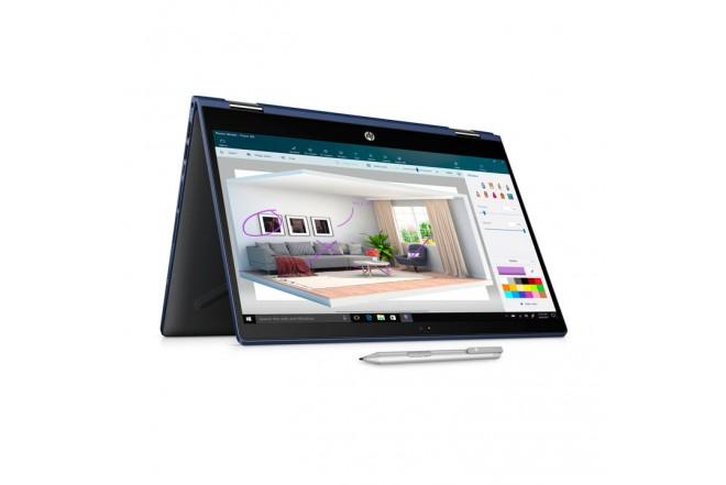 "Convertible 2 en 1 HP - 14-cd0012la - Intel Core i7 - 14"" Pulgadas - Disco Duro 1Tb - Azul2"