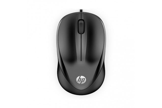 Mouse HP Alambrico Optico 1000 Negro 3