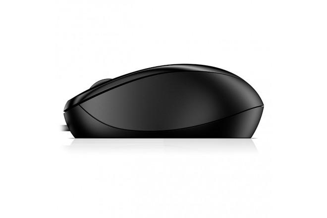 Mouse HP Alambrico Optico 1000 Negro 6