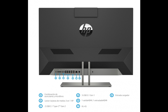 Computador All in one HP Pavilion 24-xa111la AMD R5_8Computador All in one HP Pavilion 24-xa111la AMD R5_8