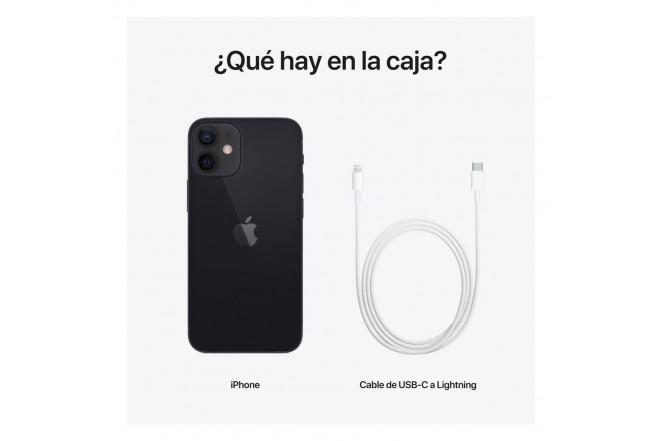 iPhone 12 mini 128 GB Negro-7