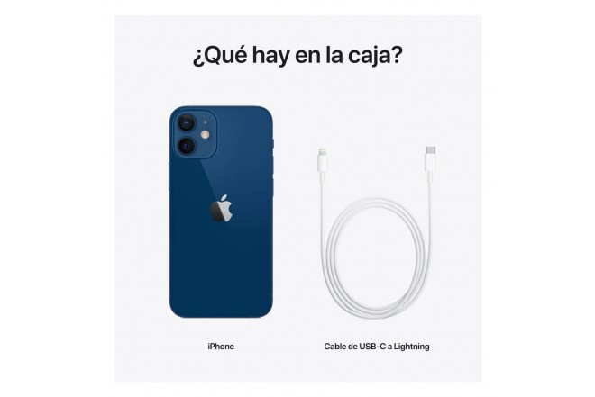 iPhone 12 mini 128 GB Azul7