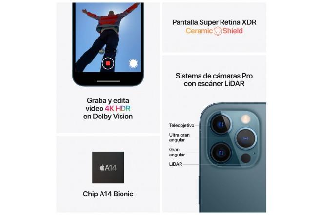 iPhone 12 Pro Max 256GB Plateado-6