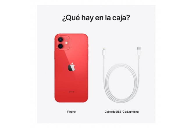 iPhone 12 256 GB Rojo-7