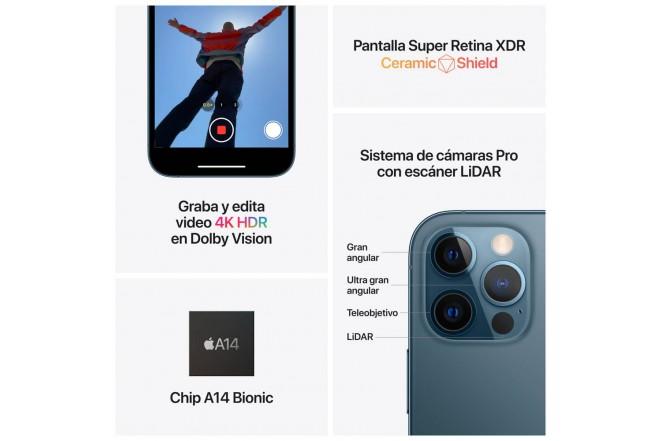 iPhone 12 Pro 256 GB Negro-6