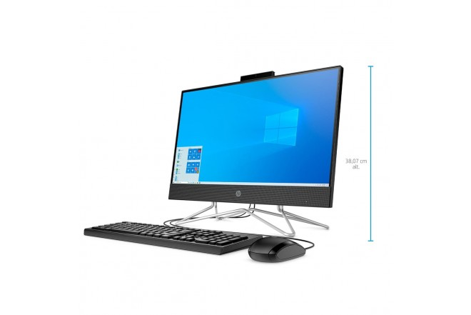 """All In One HP 22-dd0005la Intel Core i3 22"""" Pulgadas RAM 4 GB Disco Duro 1TB Negro_"""