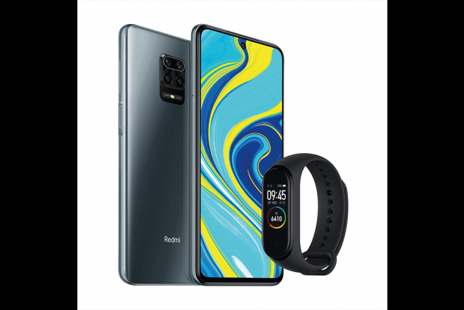 Combo XIAOMI REDMI NOTE 9S 128GB Gris + Mi Band 42