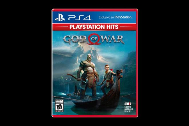 Juego PS4 God Of War Hits Lat 1