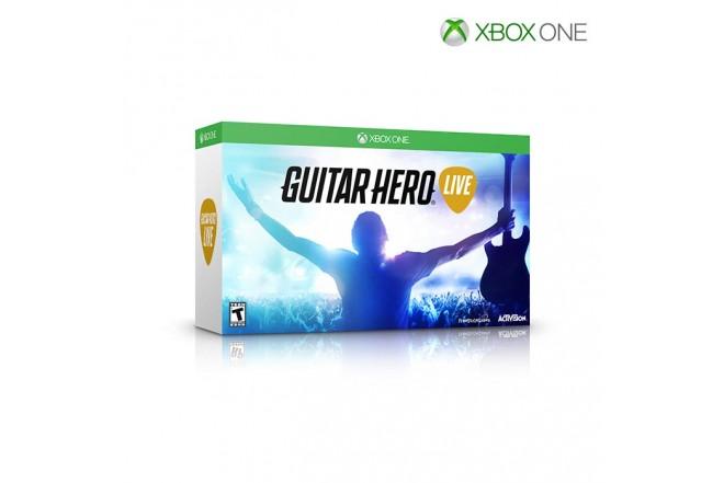 Videojuego XBOX One Guitar Hero Live