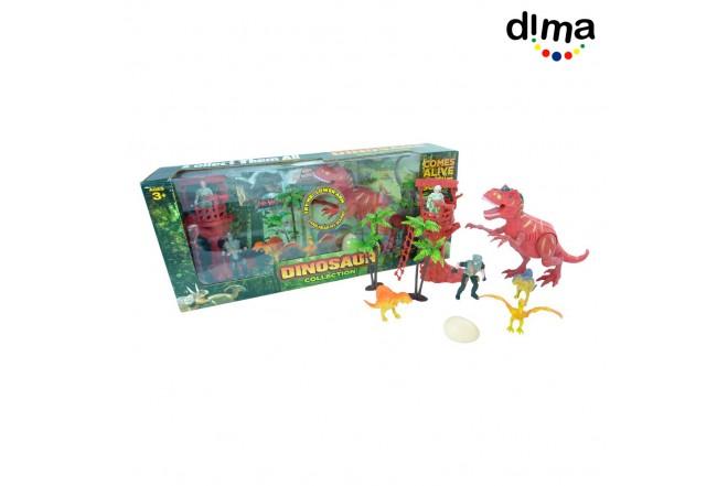 Set de juego dinosaurios con sonido