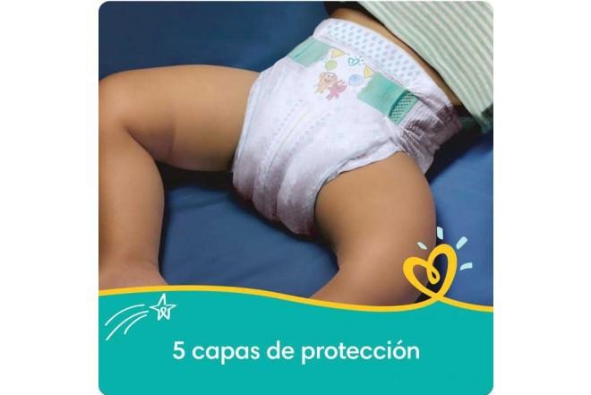Pañales Pampers Baby-Dry, Etapa 1, 120 unidades
