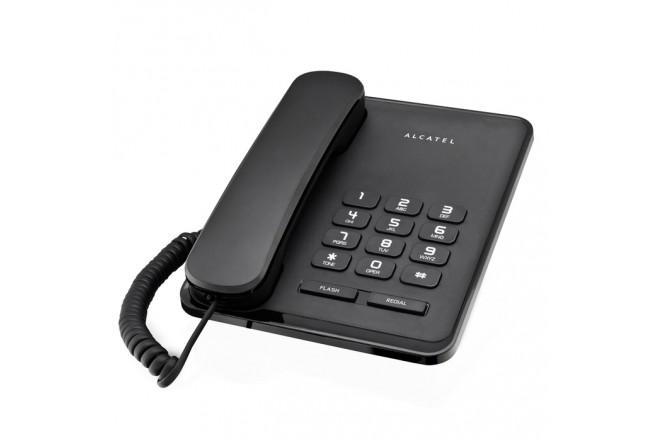 Teléfono Alámbrico ALCATEL T20 EX Negro