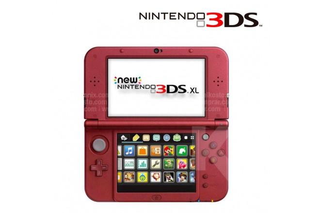 Consola New 3DS XL Roja