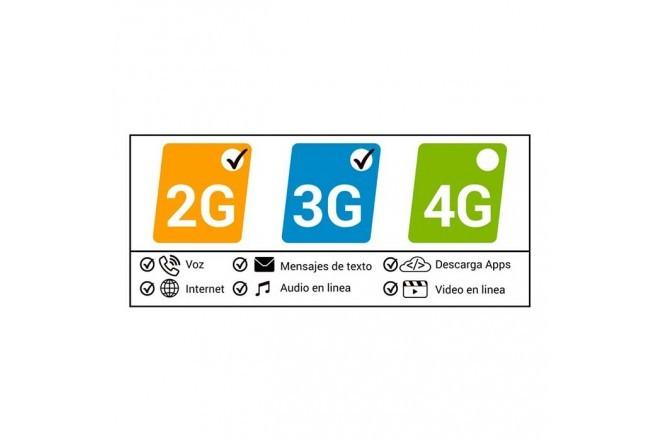 Celular KALLEY  ELEMENT 4 PLUS 8GB Blanco7