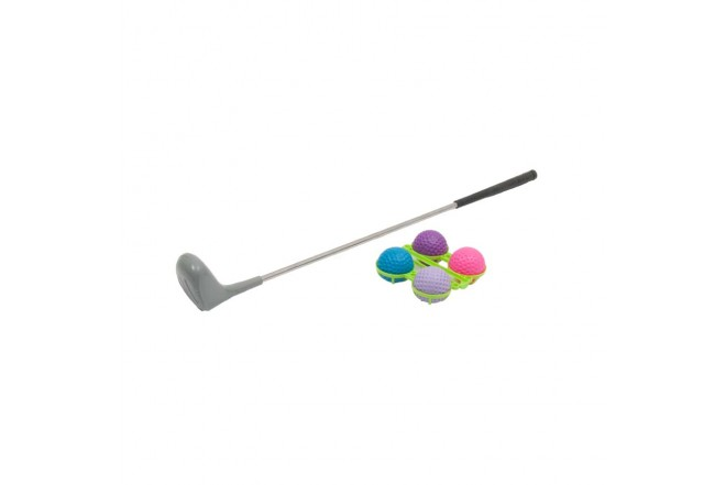 Palo Golf con 4 Pelotas AO JIE2