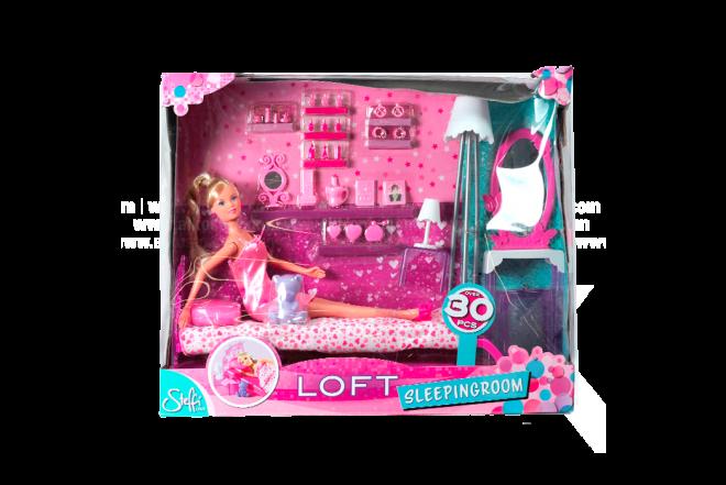 Muñeca Steffi Con Cama Loft Sleepingroom
