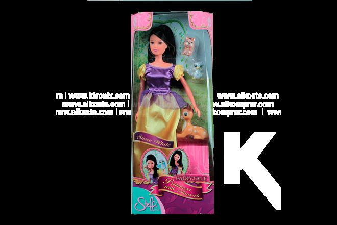 STEFFI LOVE Muñeca Princesa con animales