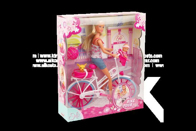 Muñeca Steffi En Bicicleta Bike Tour
