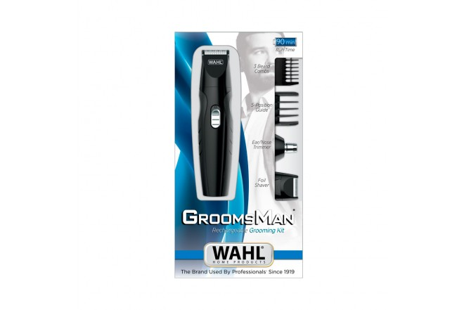 Kit WAHL Groomsman 14 Piezas Recargable