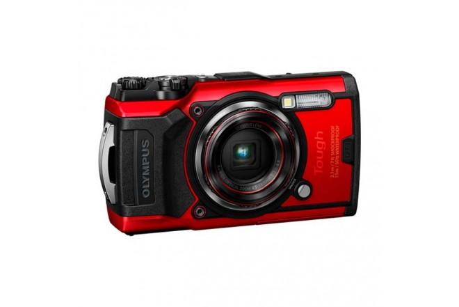 Cámara Fotográfica OLYMPUS Tough TG-6 Rojo1
