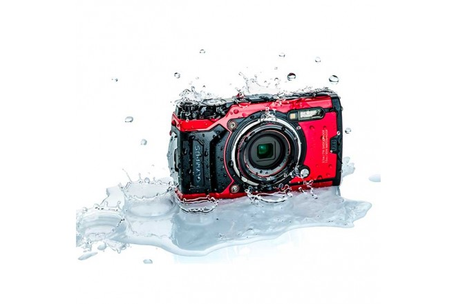 Cámara Fotográfica OLYMPUS Tough TG-6 Rojo4