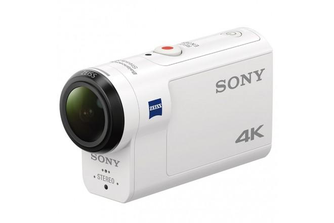 Cámara de Acción SONY FDR-X3000R Blanca 4K