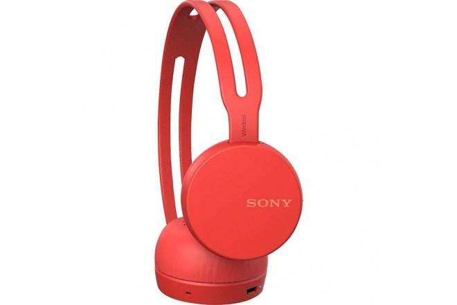 Audífonos SONY Inalámbricos On Ear CH400 - Rojo