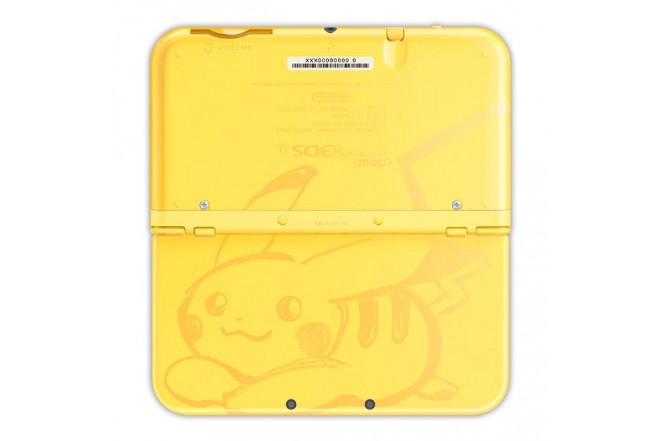 Consola 3DS XL Pikachu Yellow