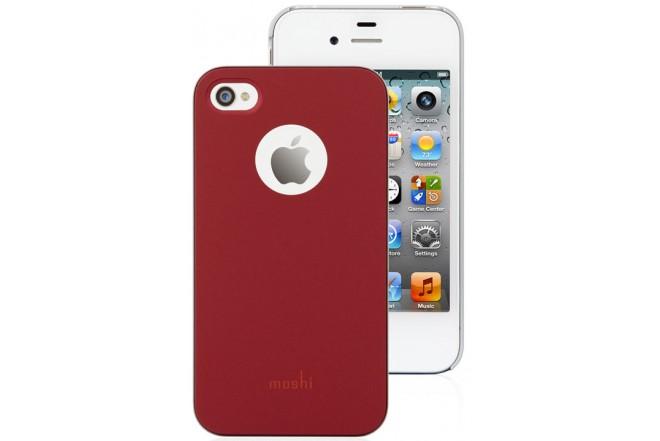 Funda MOSHI Roja para iPhone4