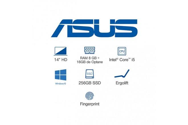 Portátil ASUS VivoBook X412FA-BV1051T Intel Core i5_9