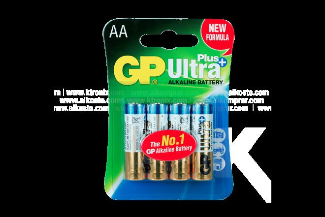 Pila Alcalina GP AA X 4 Plus Ultra