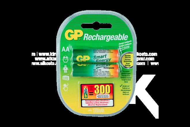 Pila REC GP 1000 mAh X2 AA NIMH