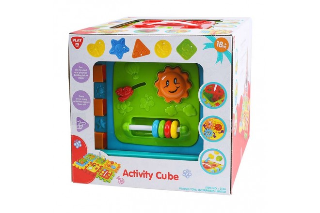 PLAYGO Juguete cubo de actividad